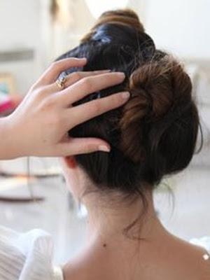 peinados recogidos paso a paso