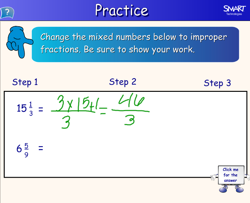 Changing Improper Fractions to Mixed Numbers Worksheets Fifth Grade gt ...