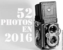 Projet 52 photos en 2016