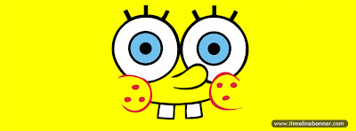 Spongebob Smiley Face Facebook Timeline Cover