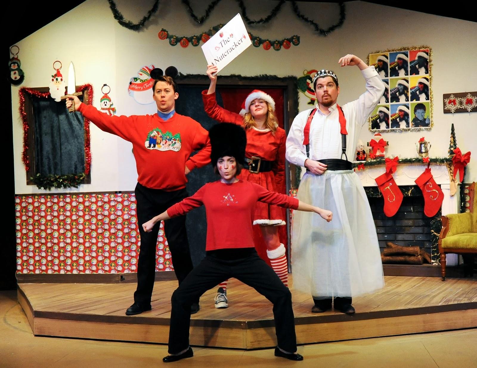 "Cincinnati Shakespeare Company's ""Every Christmas Story Ever Told ..."