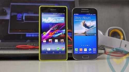 Sony, Sony Xperia Z1 Compact, Xperia Z1 Compact, Samsung, Samsung Galaxy S4 Mini, Galaxy S4 Mini, Samsung S4 Mini