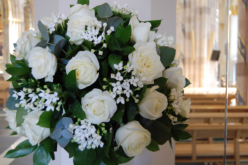 Mood Flowers Glasgow Wedding : Mood flowers white wedding