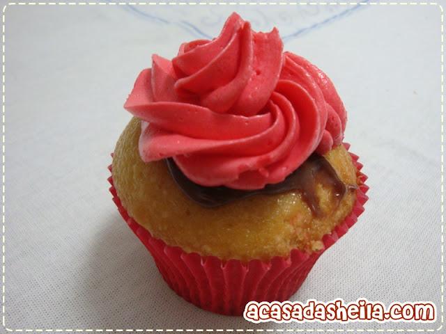Cupcakes de brigadeiro