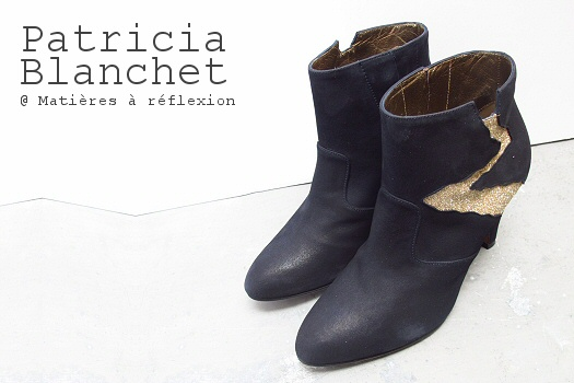 Boots en cuir Patricia Blanchet