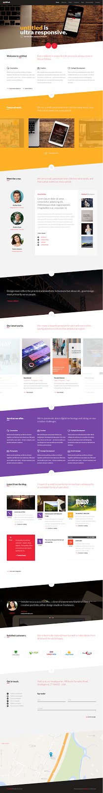 WordPress Multipurpose Template free