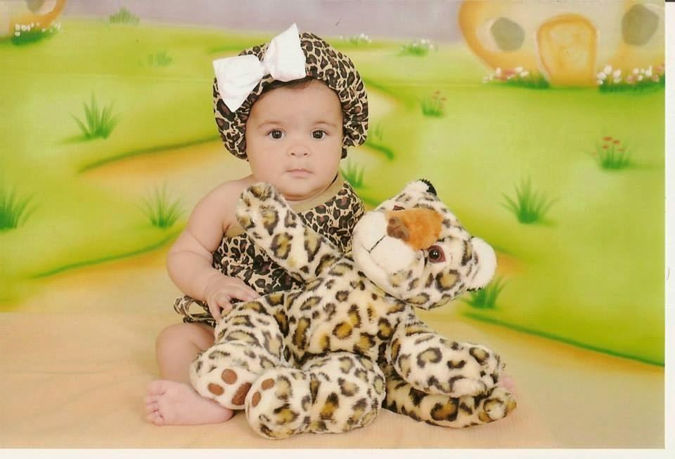 Sophia com 5 mês