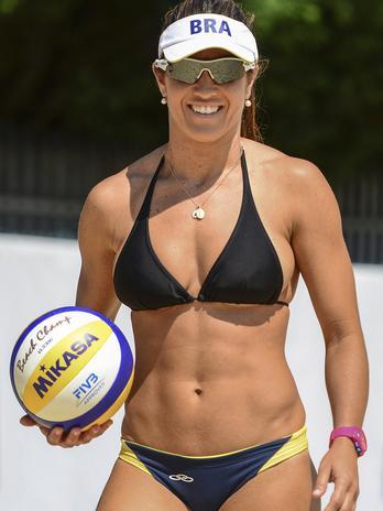 Sexy Brasileira Volleyball Nuda 40