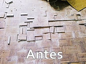 Restauração de piso
