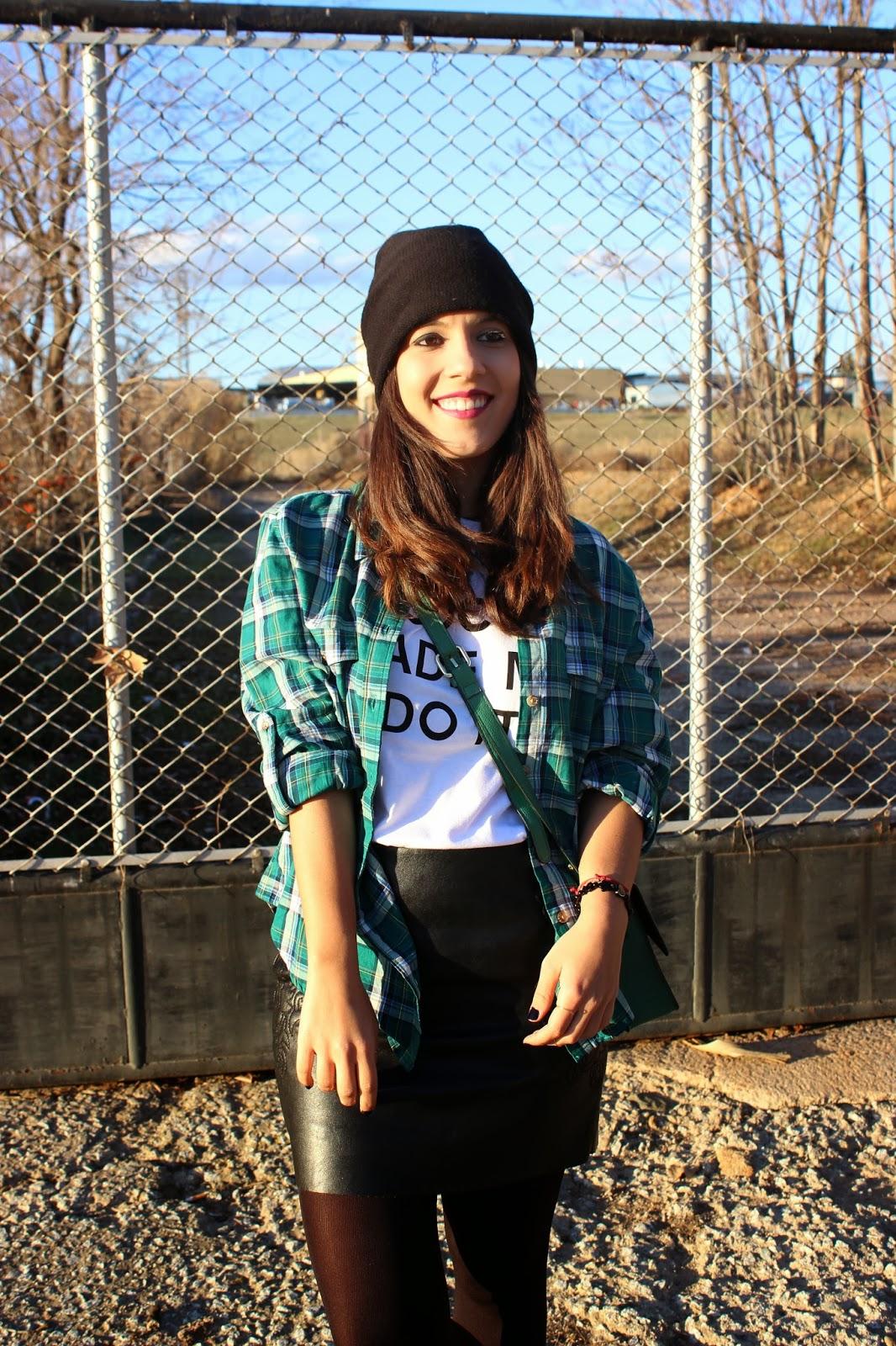fashion blogger camiseta mensaje