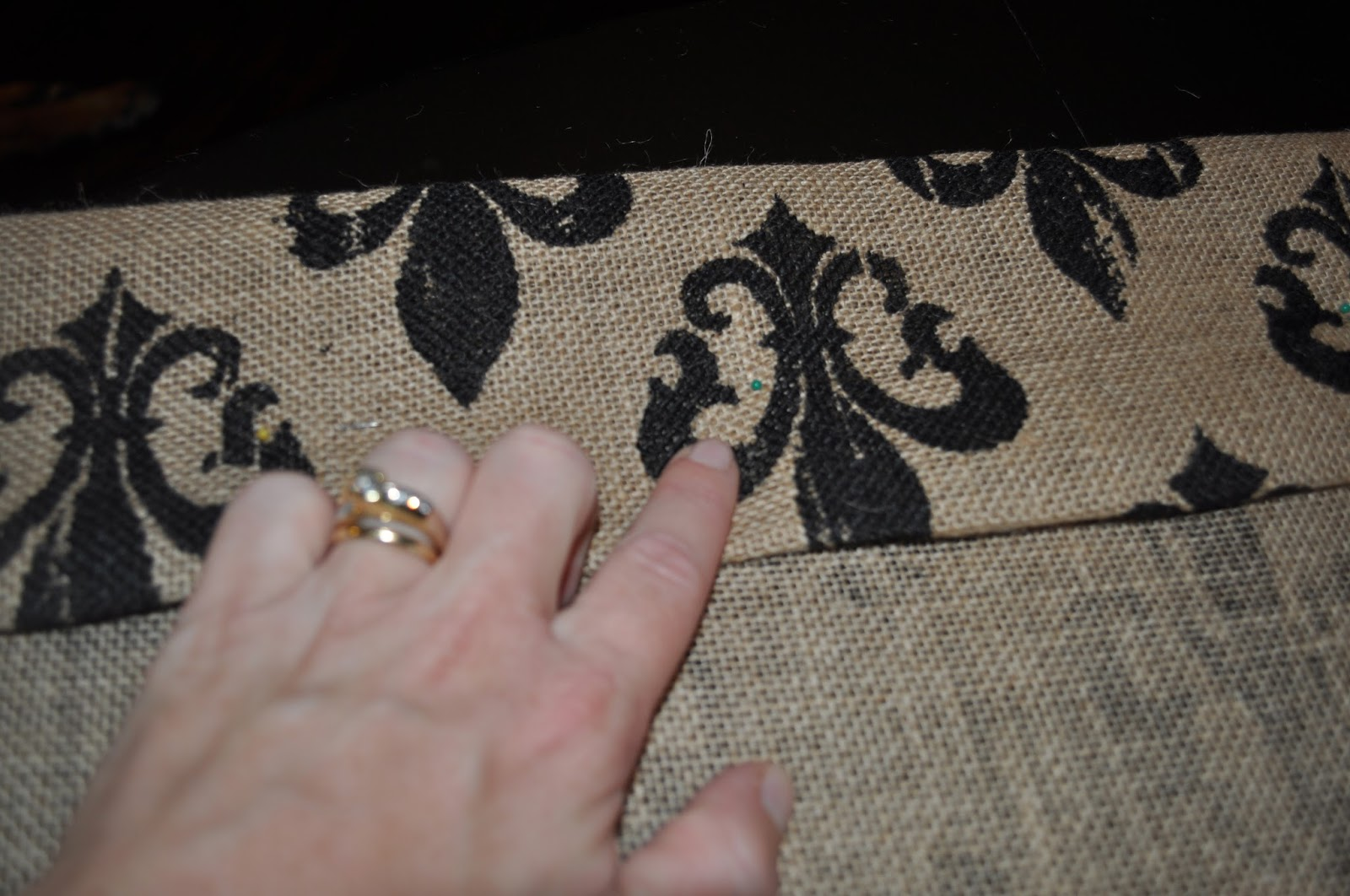 Burlap kitchen curtains no sew - Step 6 Fill Your Iron With Water And Place On The Wool Setting Press The Iron Over The Fabric And Stitch Witchery Do Not Slide The Iron Across The