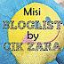 Misi Bloglist By Cik Zara