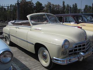 Выставка ретро автомобилей, Донецк, день города, ретро авто