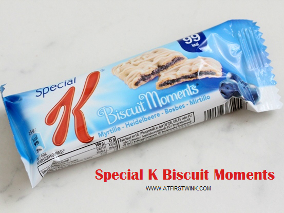 Special K Biscuit Moments - blue berry review