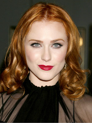 Loose waves add delicate movement through Evan Rachel Wood's luster-rich strands.