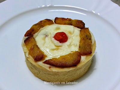 Gastronomia by Ana: Mini Torta de Charque com Banana da Terra