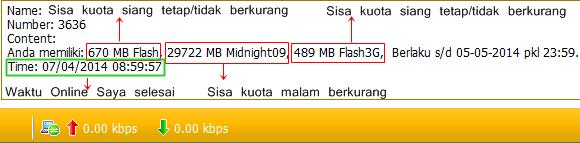 cara agar paket simpati loop kuota internet siang tidak berkurang