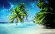 Imagens de Fundo: Imagem de FundoPraia paradisíaca (praia paradisiaca imagens imagem de fundo wallpaper para pc computador tela gratis ambiente de trabalho)