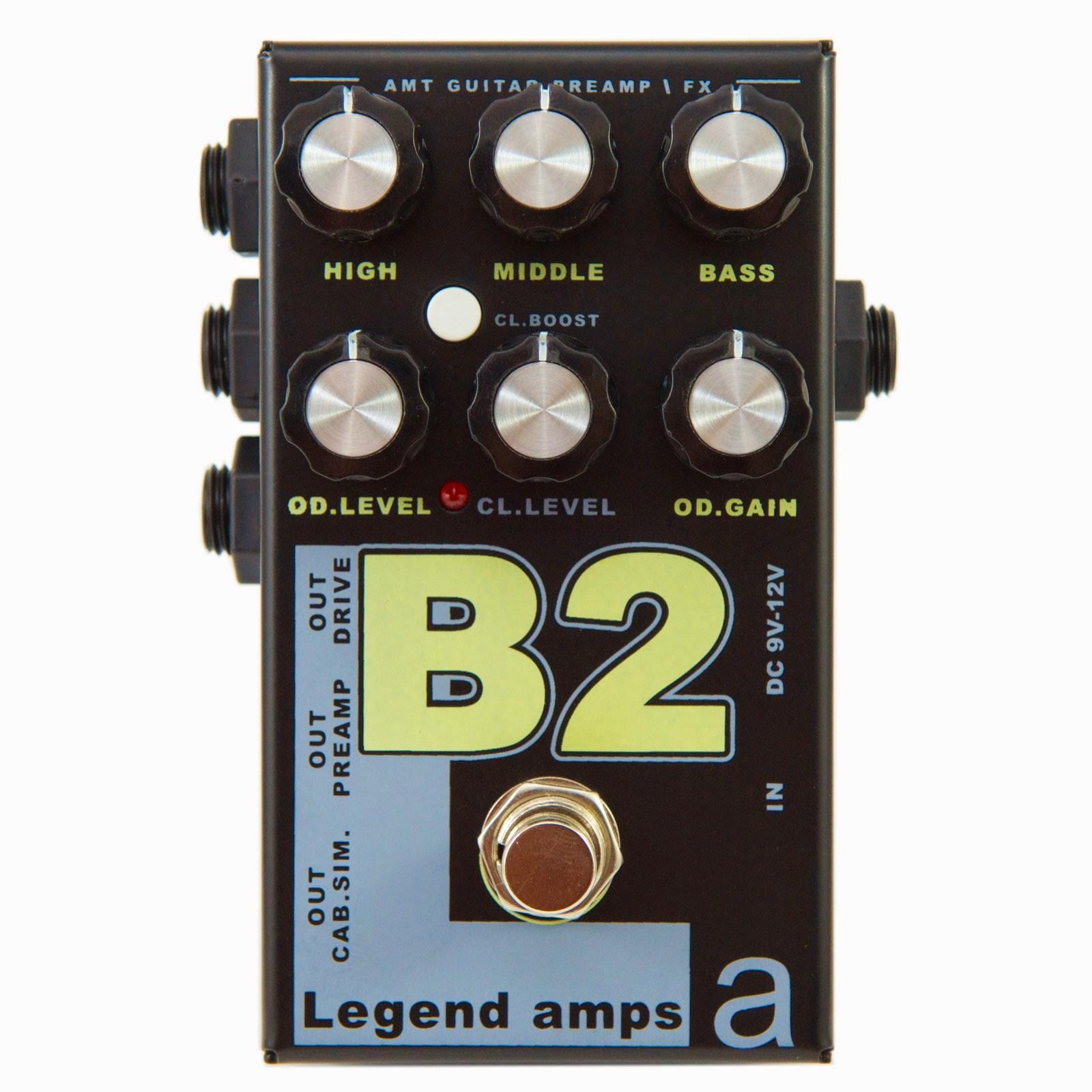 AMT ELECTRONICS B2 Bogner Legend Amp Series II