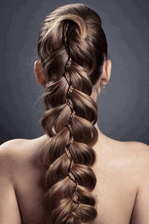 Originales peinados con trenzas , Tendencias 2016