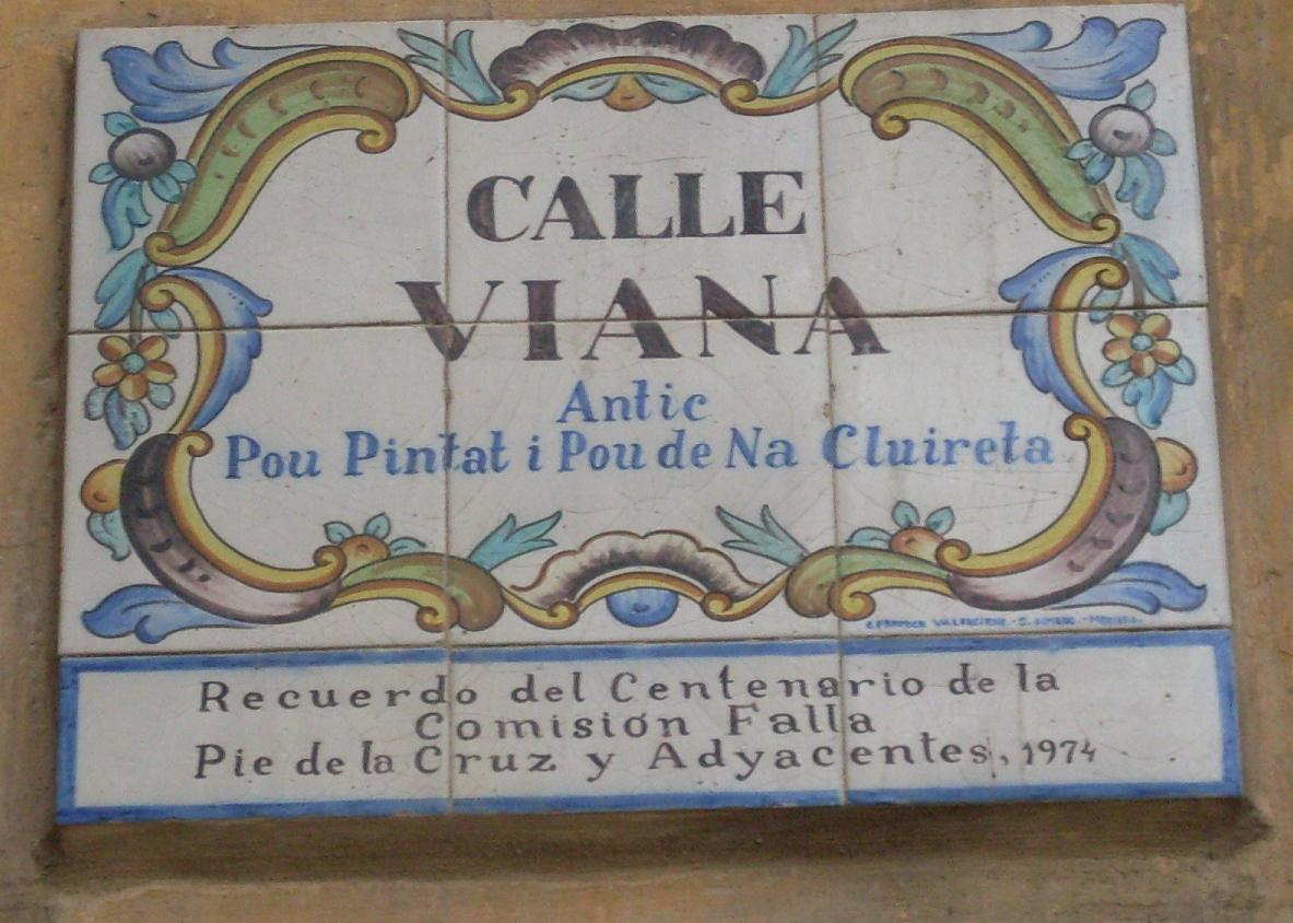 Calles hist ricas de valencia la calle de viana - Calle viana valencia ...