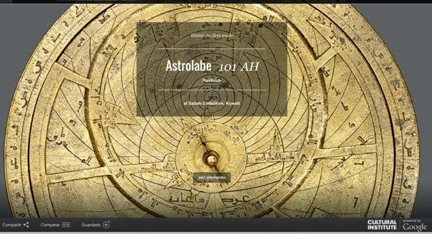 ¡Déjate guiar por el astrolabio! Visita un museo sin salir de casa.
