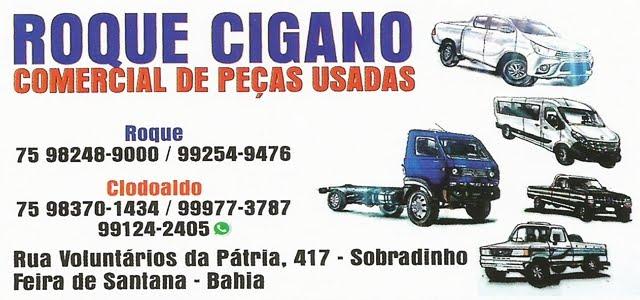ROQUE CIGANO COMERCIAL DE PEÇAS USADAS