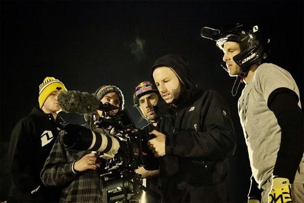 Filming Dan Atherton's Escape. Create