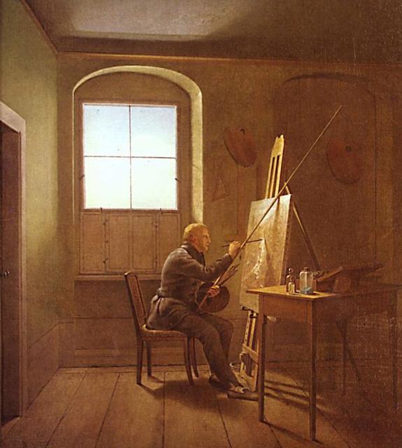 ===Cuadro dentro de un cuadro=== Georg+Friedrich+Kersting