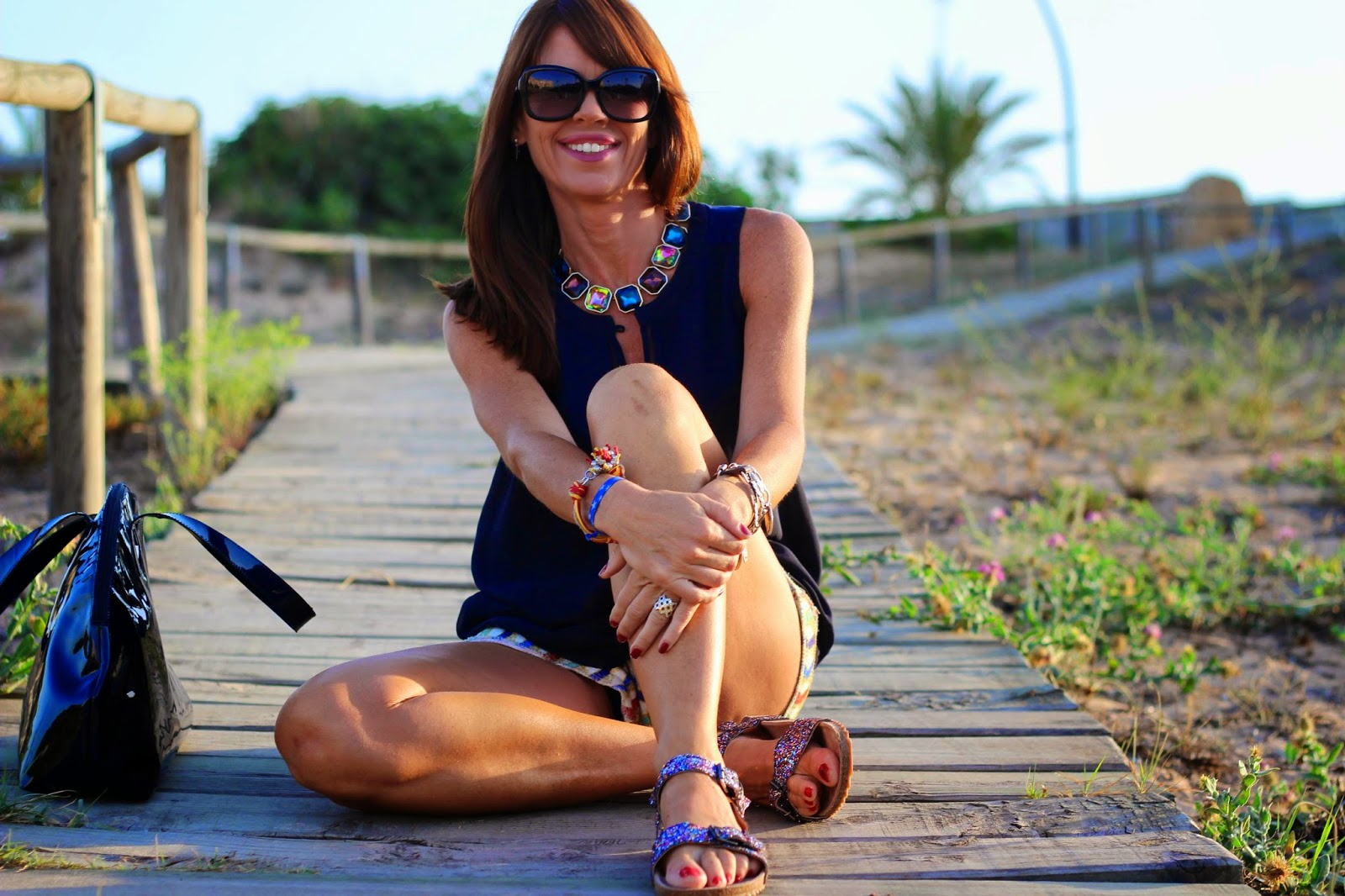 Outfit 2014 - Tendencias summer 2014 - Bios Zara - Cavalli sunglasses