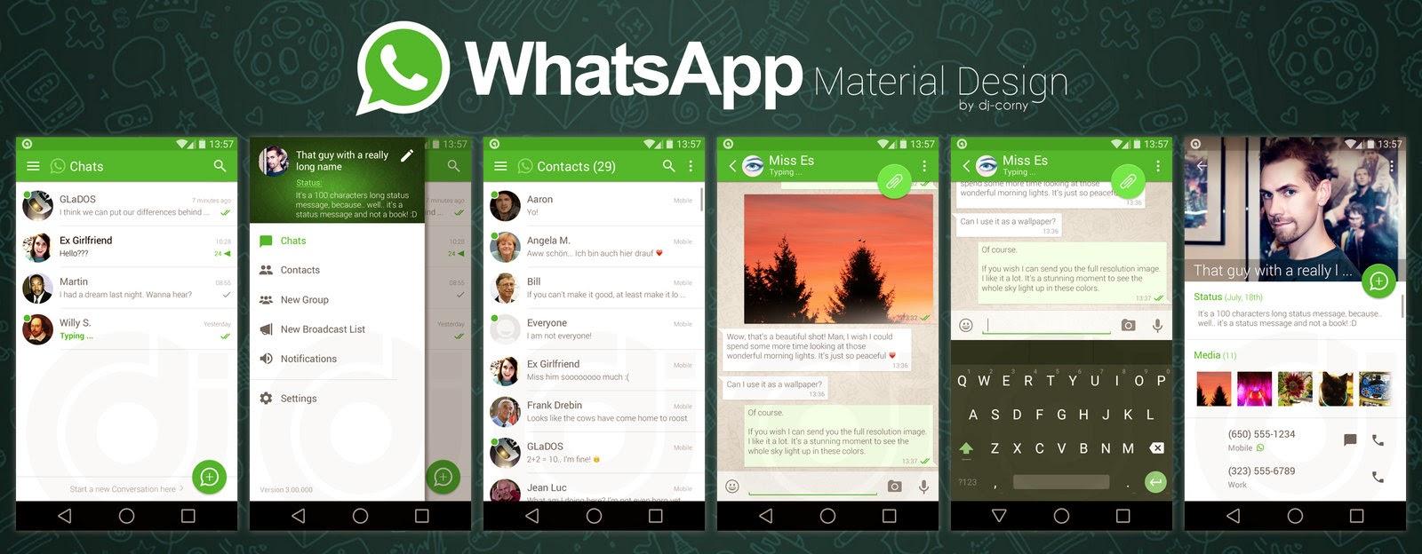 Dê uma nova cara para o seu What'sApp