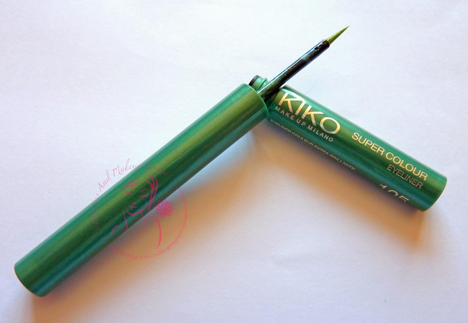 KIKO - Super Colour eyeliner - aperto