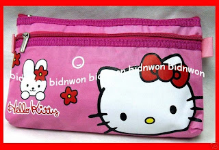 Hello Kitty bunny pencil case for school