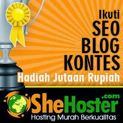 Kontes SEO Hosting Murah Berkualitas Shehoster