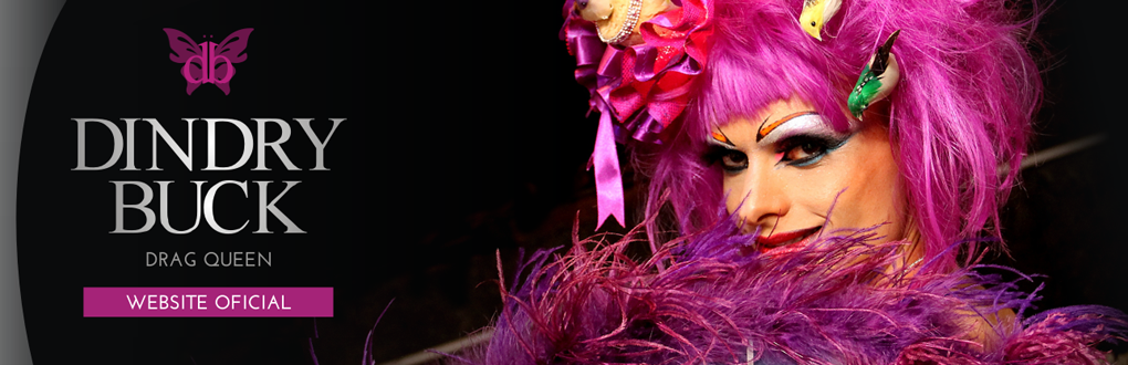 Website Oficial Dindry Buck Drag Queen