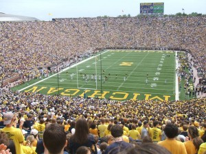Experiencing Gameday At The University Of Michigan Through Music