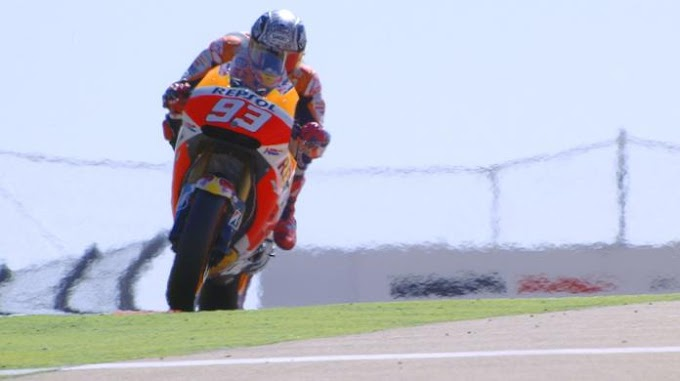 Latihan Bebas 3 MotoGP Aragon 2015 - Marquez Geser Dominasi Lorenzo!