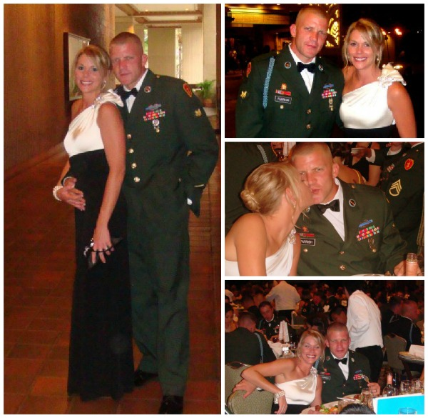 dress for the army ball, military wife at the army ball, military ball, army wife dress