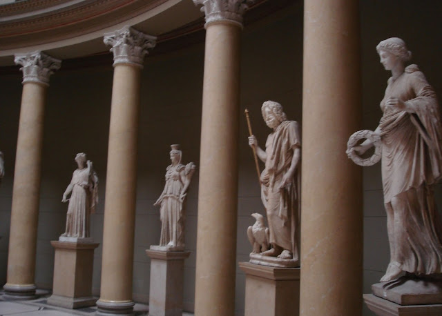 statues of greek gods