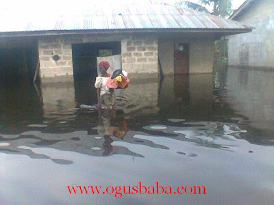 More photo Updates From The Delta State Ongoing Flooding