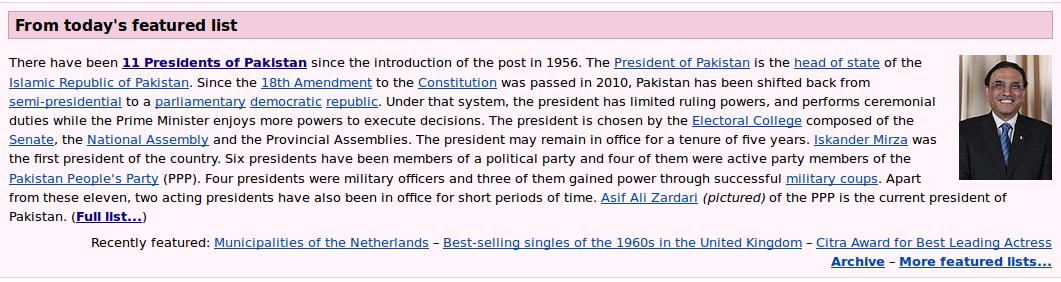 list of presidents of pakistan pdf