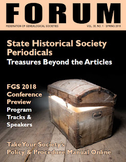 FGS FORUM, Quarterly eMagazine