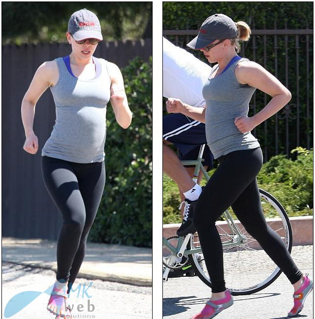 Celebrity Diet and Fitness Tips: Scarlett Johansson after ...