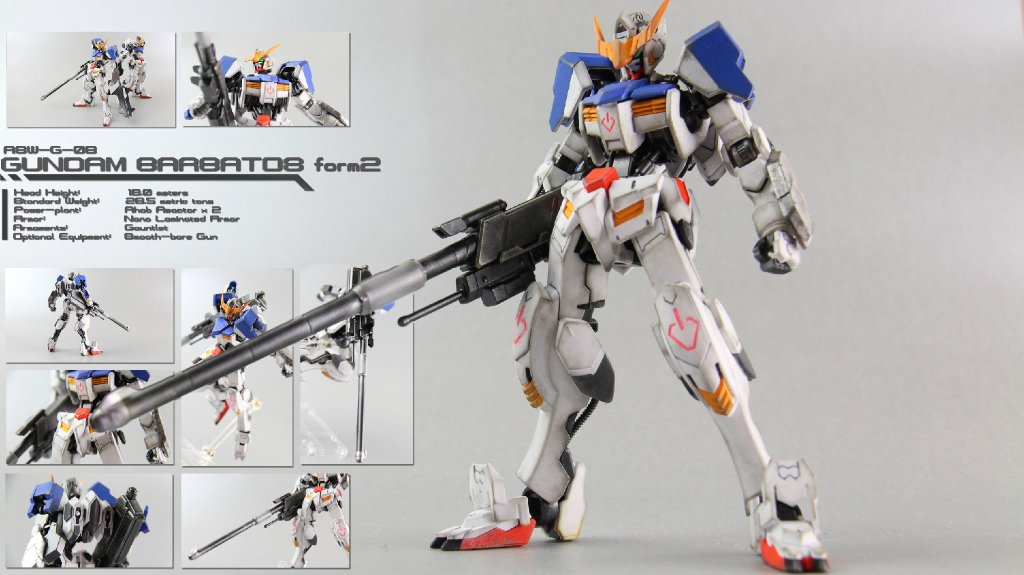Custom Build: HG 1/144 Gundam Barbatos Form 2 - Gundam Kits ...
