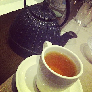 JPB Restaurant Review Swissotel Sydney - Gluten Free Peppermint Tea