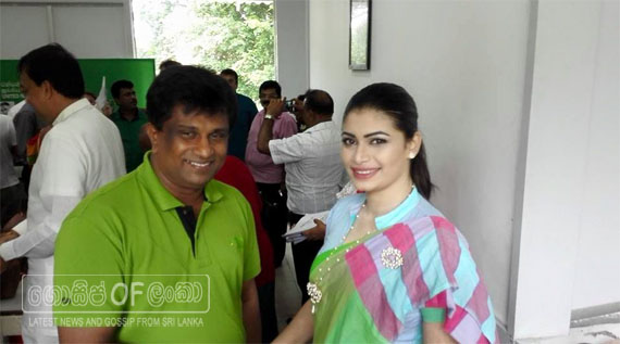 Hirunika Premachandra to contest the upcoming General election from the UNP