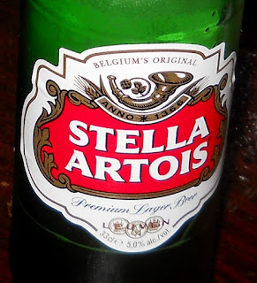 belgian beer stella artois