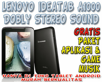 Lenovo Ideapad A1000 Dobly Setreo Sound