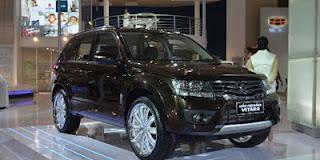 Harga Mobil New Suzuki Grand Vitara Facelift 2012 dan Spesifikasinya