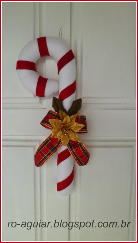 bengala de Natal com PAP (DIY)